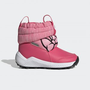 Сапоги RapidaSnow Minnie Mouse Performance adidas. Цвет: черный