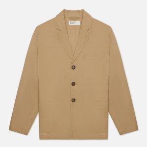 Мужской пиджак London Twill Universal Works. Цвет: бежевый