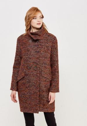 Пальто AzellRicca Azell'Ricca. Цвет: оранжевый