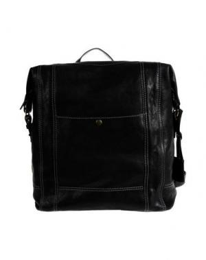 Рюкзаки и сумки на пояс GIANNI CONTI. Цвет: черный