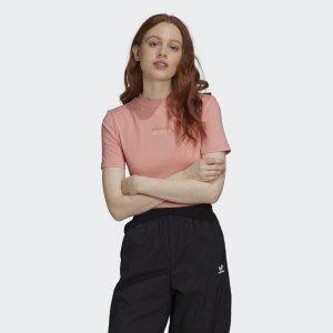 Боди R.Y.V. Originals adidas. Цвет: розовый