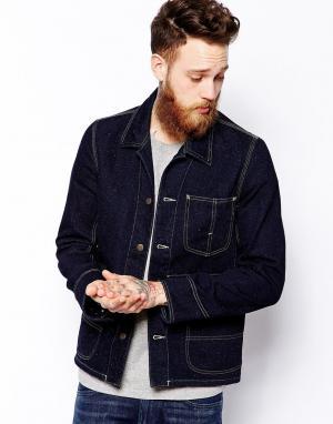 Джинсовая куртка Lee. Цвет: синий