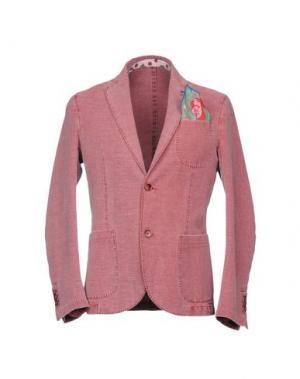 Пиджак MARTIN ZELO. Цвет: красно-коричневый