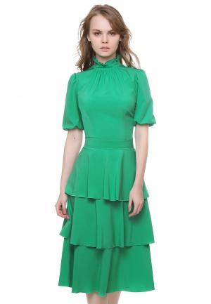 Платье Marichuell LOREN. Цвет: зеленый