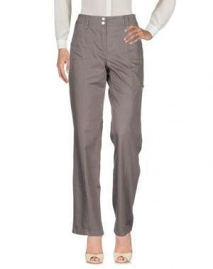 Повседневные брюки BASLER. Цвет: свинцово-серый