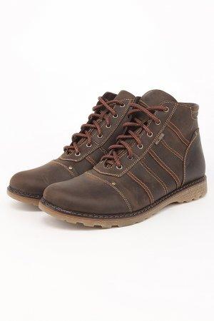 Зимние ботинки Elite. Цвет: коричневый