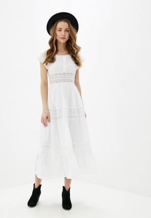 Платье Fresh Cotton. Цвет: белый