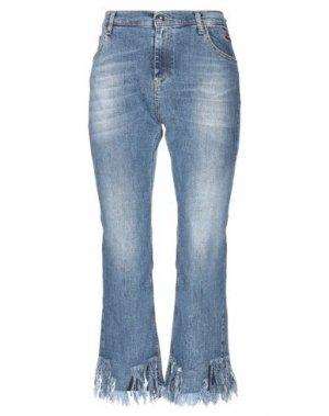 Джинсовые брюки-капри SHOP ★ ART. Цвет: синий