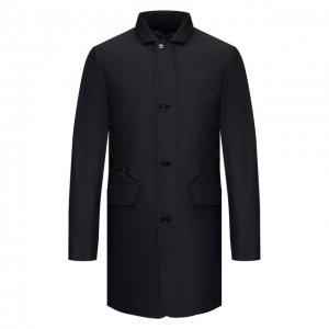 Комплект из пальто и жилета Shinjuku-KM Moorer. Цвет: синий