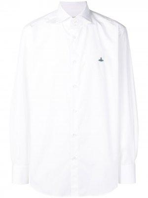 Классическая рубашка Vivienne Westwood. Цвет: белый