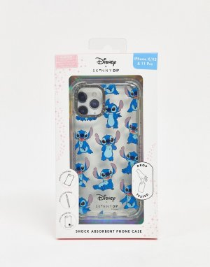 Чехол для iPhone со Стичем х Disney-Прозрачный Skinnydip