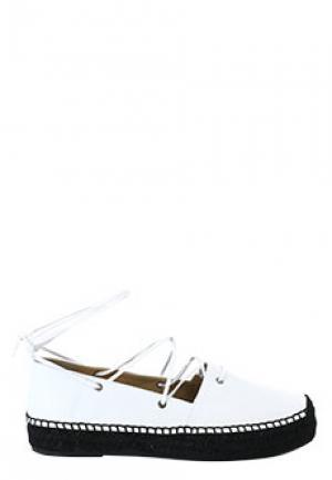 Эспадрильи EMPORIO ARMANI. Цвет: белый