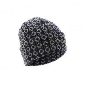 Шерстяная шапка Bilancioni. Цвет: синий