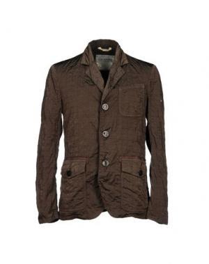 Пиджак GEOSPIRIT. Цвет: темно-коричневый