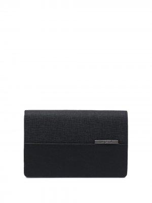 Складной кошелек agnès b.. Цвет: черный
