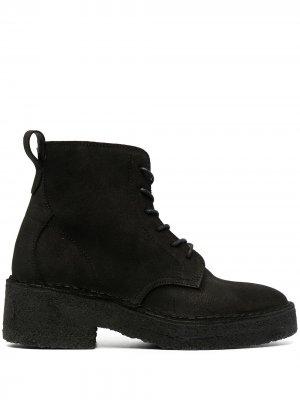 Ботинки дезерты Arisa Clarks Originals. Цвет: черный
