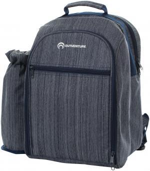 Пикниковый рюкзак , на 4 человека Outventure. Цвет: синий