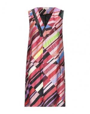 Короткое платье RENE' DERHY. Цвет: пастельно-розовый