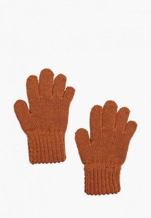 Перчатки Maximo. Цвет: коричневый