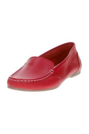 Мокасины Dali. Цвет: красный