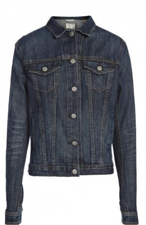 Джинсовая куртка Rag&Bone. Цвет: синий