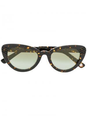 Солнцезащитные очки Port Ahlem. Цвет: коричневый