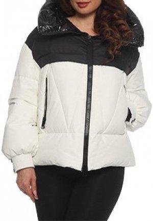 Куртка NIPAL. Цвет: белый