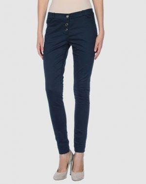 Повседневные брюки GAT RIMON. Цвет: стальной серый