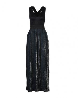 Длинное платье JIJIL. Цвет: черный