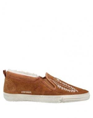 Низкие кеды и кроссовки GOLDEN GOOSE DELUXE BRAND. Цвет: коричневый