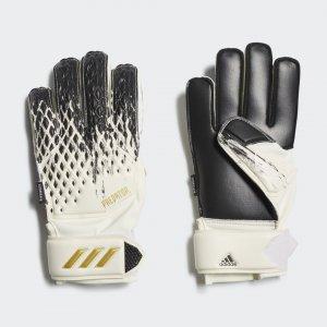 Вратарские перчатки Predator 20 Match Performance adidas. Цвет: черный