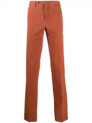 Узкие брюки чинос Pt01. Цвет: оранжевый