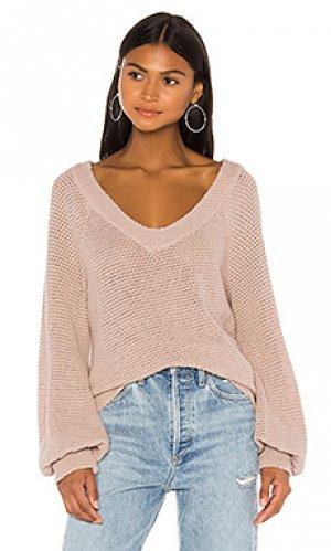 Пуловер verity LA Made. Цвет: цвет загара