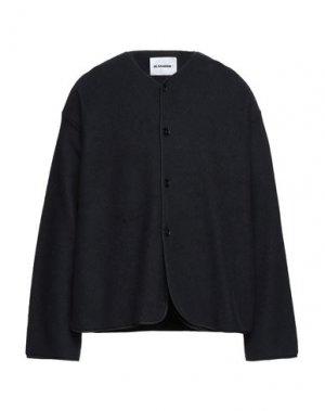 Пиджак JIL SANDER. Цвет: черный