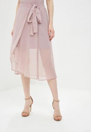 Юбка Argent. Цвет: розовый