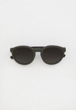 Очки солнцезащитные Emporio Armani EA4152 50421W, оправа и линзы 2 шт.. Цвет: разноцветный
