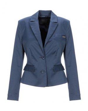 Пиджак BETTY BLUE. Цвет: синий