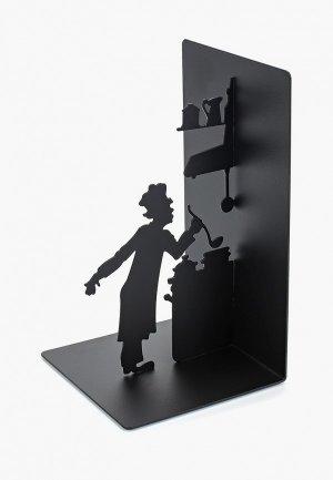 Держатель для книг Balvi Le Chef. Цвет: черный