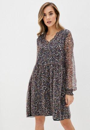 Платье b.young. Цвет: разноцветный