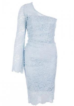Платье FLAVIO CASTELLANI. Цвет: голубой