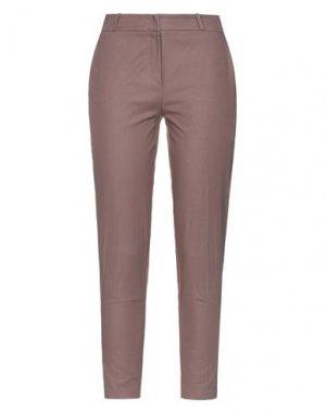 Повседневные брюки ANNARITA N. Цвет: какао