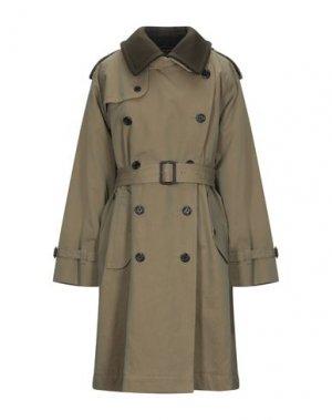 Легкое пальто MARC JACOBS. Цвет: зеленый-милитари