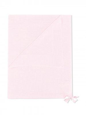 Однотонное одеяло Le Bebé Enfant. Цвет: розовый