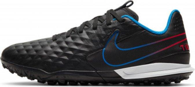 Бутсы для мальчиков JR Legend 8 Academy TF, размер 35 Nike. Цвет: черный