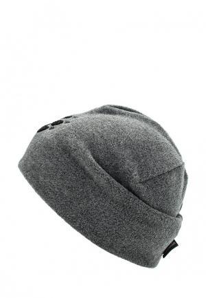 Шапка Jack Wolfskin PAW HAT. Цвет: серый