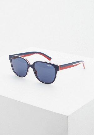 Очки солнцезащитные Christian Dior Homme DIORFLAG1 737. Цвет: синий