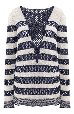 Пуловер Balmain. Цвет: синий