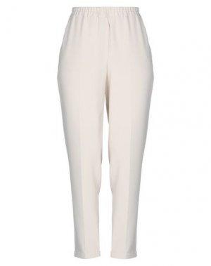 Повседневные брюки GOSSIP. Цвет: слоновая кость