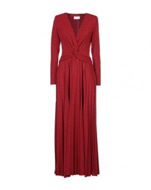 Длинное платье CRISTINAEFFE. Цвет: красный