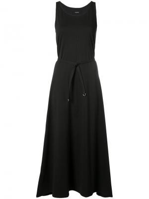 Платье-майка с поясом Lemaire. Цвет: чёрный